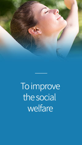 To improve the social welfare